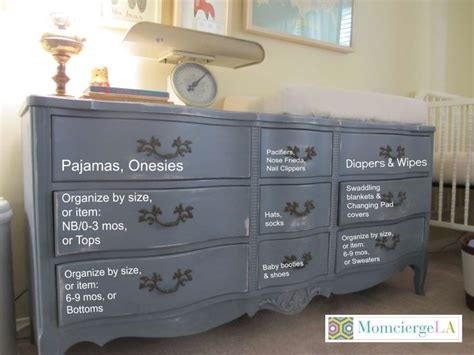 How To Organize Baby Dresser Drawers by 25 Best Ideas About Organizing Baby Dresser On