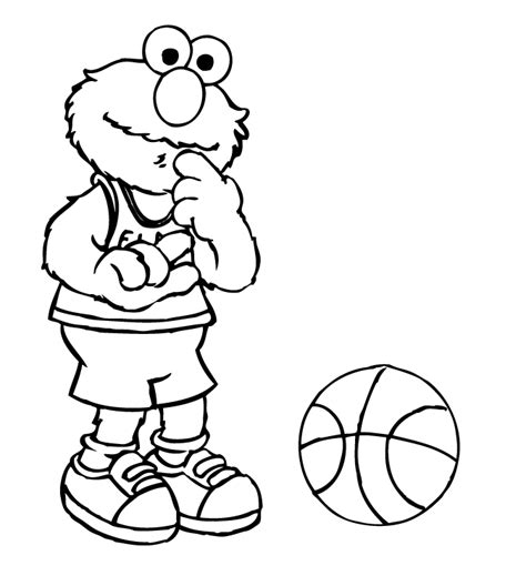 coloring page elmo christmas of sinterklas cool printable and cute coloring