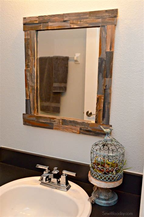 frame your bathroom mirror 8 ways to prettify bathroom without repacking wma property
