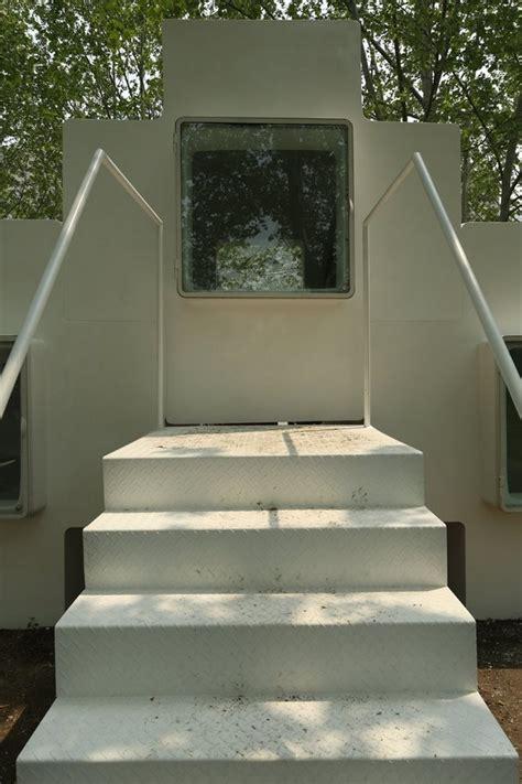 micro house by studio liu lubin installed in beijing park micro house by studio liu lubin