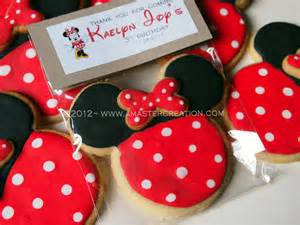 minnie mouse cookies a master creation
