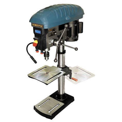variable speed bench drill press powertec 12 quot variable speed drill press tools bench