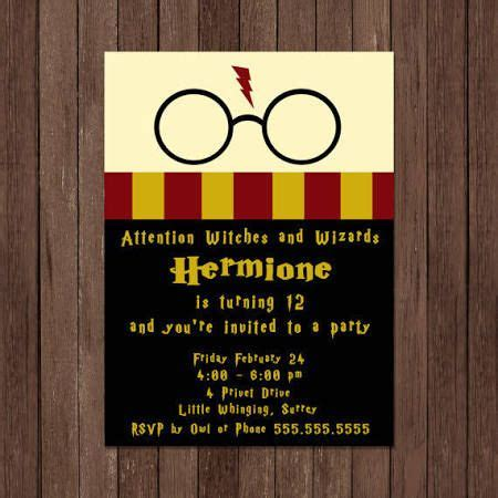 card template hermine best 25 harry potter invitations ideas on