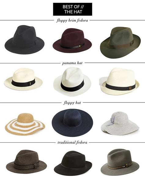 types of hats mens hat types and names www imgkid com the image kid