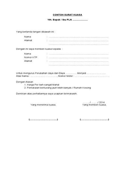 read book contoh surat kuasa ahli waris asuransi pdf