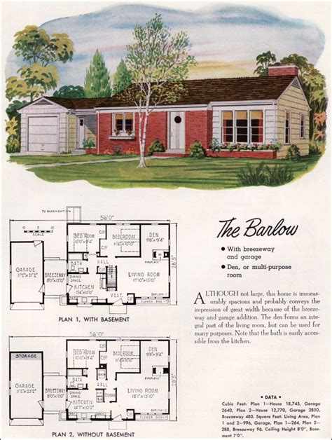 mid century modern floor plans plan house wooden bench diy mid century modern house plans national plan service