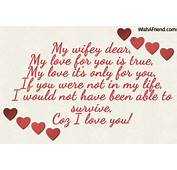 Love Quotes Missing My Wife Valentine Day 27533