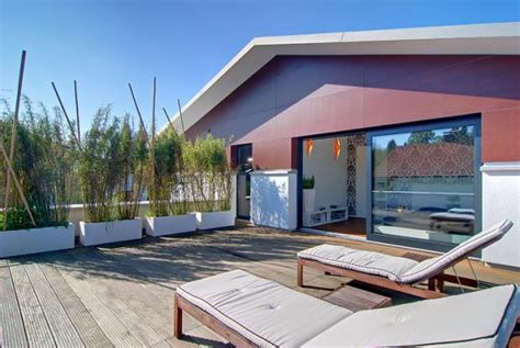 Dachterrasse Auf Garage Bauen by Design Fertighaus Dachterrasse Mit Bagkirai Holz Bild 5