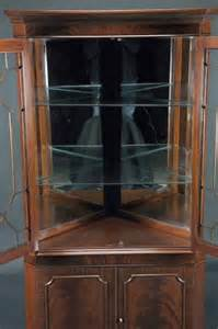 high end mahogany corner china cabinet for traditional