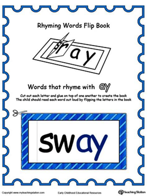Free Printable Color Flip Book