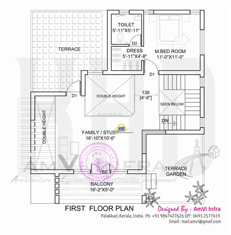 flat roof home plans 171 floor plans flat roof home with floor plan kerala home design and