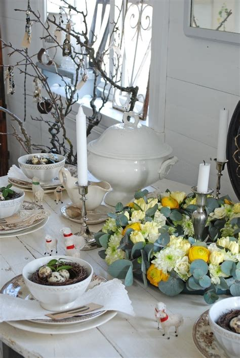 spring table decoration ideas easter time on pinterest easter table decorations