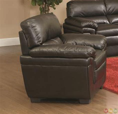 plush sofa leather quality fenmore black faux leather plush contemporary living room