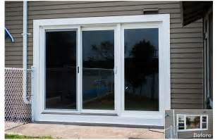 Panels For Sliding Patio Doors by Gallery For Gt 3 Panel Sliding Glass Patio Doors
