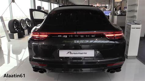Porsche Panamera Turbo S Sound by Details Of The Porsche Panamera Turbo S 2018 Sound In