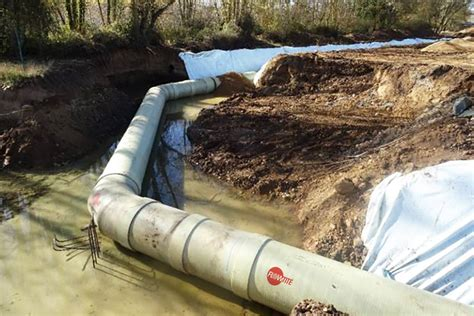And The City In The Pipeline by Water Ring Pipeline For The City Of Burgos Spain
