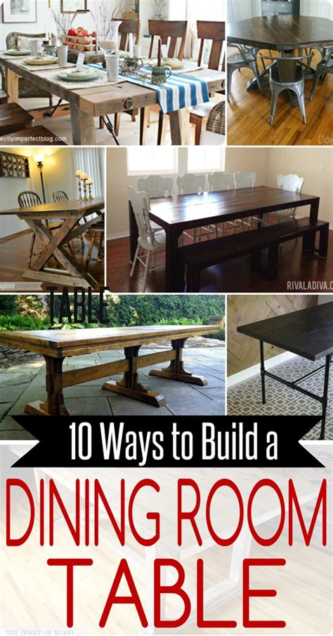 Build Your Own Dining Room Set 10 Ways To Build Your Own Dining Room Table Home Decor