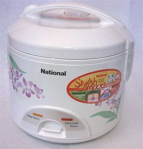 Rice Cooker National rice cooker made in thailand by zojirushi available from importfood