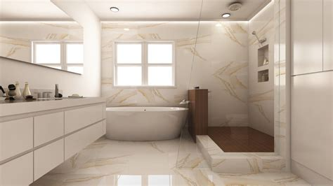 Glass Vanity Countertop Two Modern Bathroom Remodels