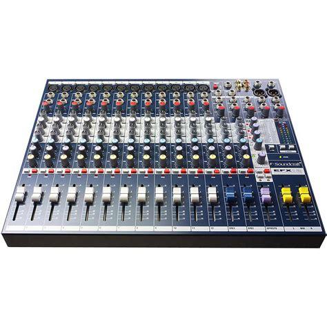 Mixer Soundcraft soundcraft efx12 171 mixer