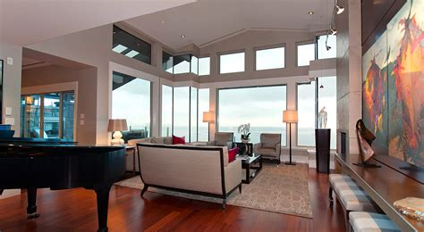 spectacular west coast penthouse  vancouvers aerie ii
