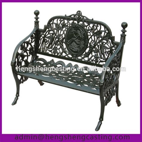 antique cast iron park bench spanish style 2 m outdoor garden antique cast iron park