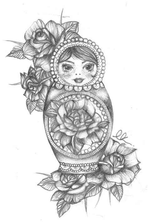 russian doll tattoo designs 25 best ideas about russian doll on