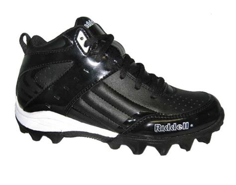 riddell football shoes riddell lockdown ii football lightweight cleates mid top