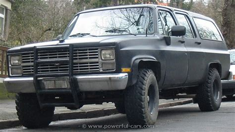 chevrolet 1984 suburban 4x4 the history of cars