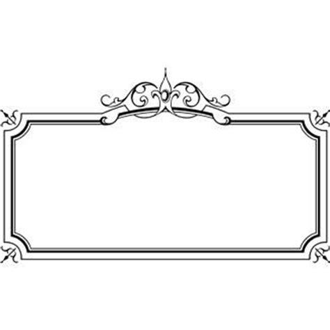 7 best images of elegant printable labels elegant elegant page borders clipart 52