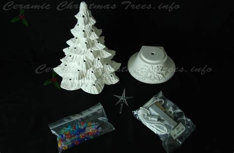 how to paint a ceramic christmas tree ready to paint ceramic tree kit 19 inches