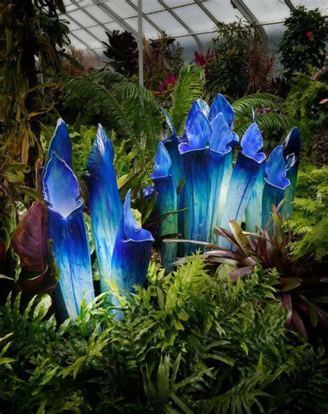 fiori realistici incredibili e realistici fiori giganti in vetro