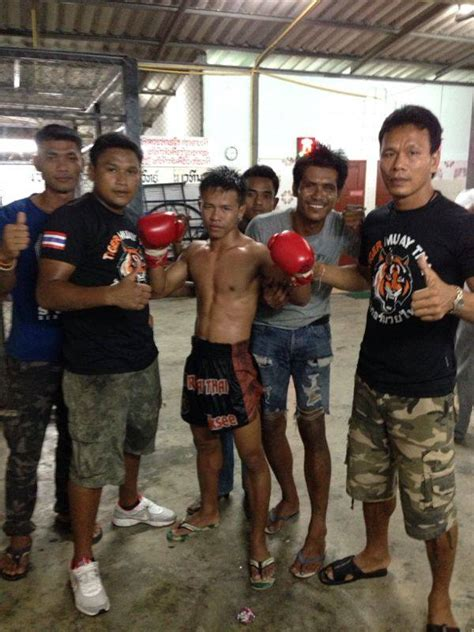 Only 17 Years Old Tiger Muay Thai Mma Training C