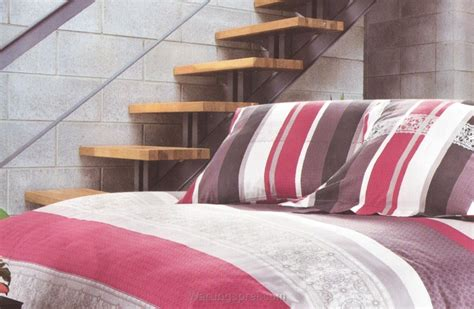 Salur Pink bed cover set salur pink uk 100 t 25cm warungsprei