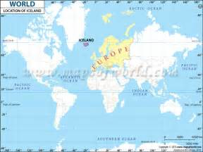 World Location Where Is Iceland On World Map Location Of Iceland On Map
