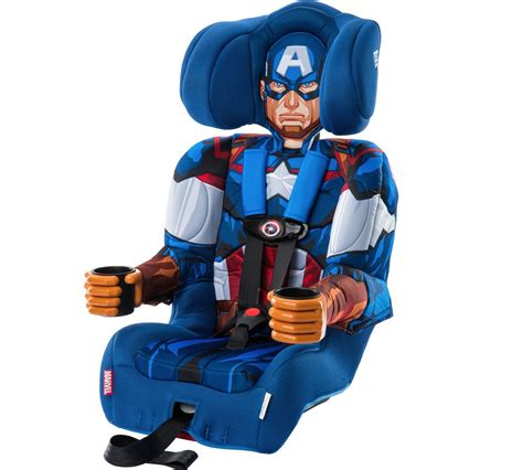 Toys Captain America Harness captain america combination booster car seat by kidsembrace