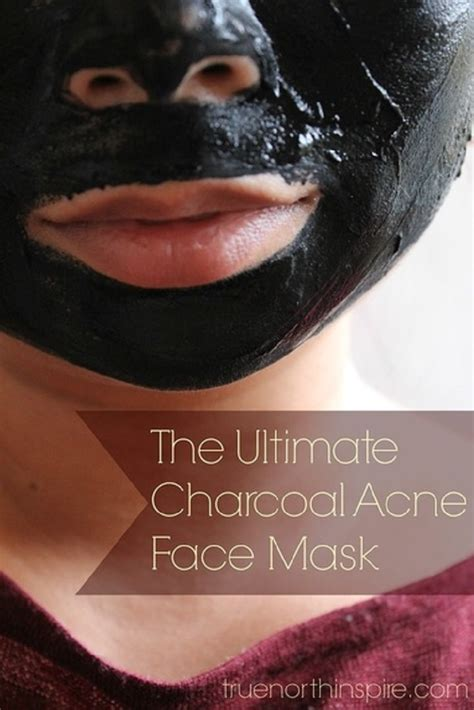 diy charcoal mask recipes  beauty products