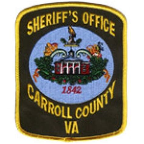 sheriff lewis f webb carroll county sheriff s office