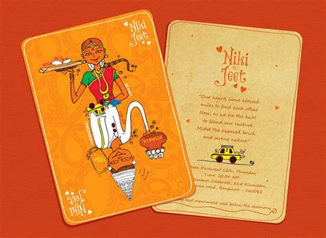 innovative indian wedding invitation cards wedding card design on behance