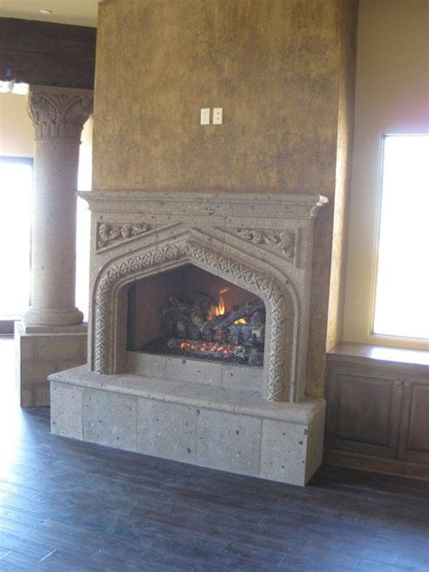 stones and fireplaces on