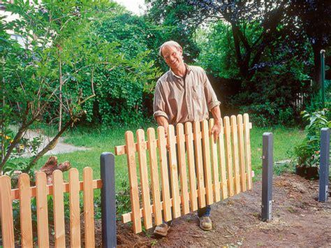 Zaun Günstig Selber Bauen 30 by Trotz Wind Und Wetter Holz Im Garten Selber Machen