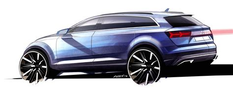 audi q7 second generation 7 seater suv debuts image 295890