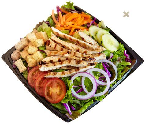 Backyard Burger Grilled Chicken Salad The Menu Salads Habit Burger