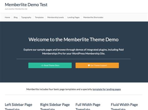 Wp Template Redirect by Demo Archives Memberlite