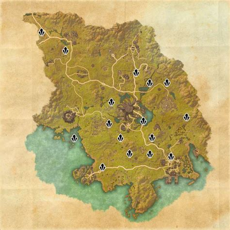 skyshard eso locations map skyshard locations in eso
