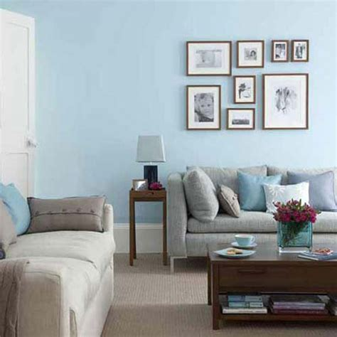 blue living room paint wall painting ideas blue schemes house decor picture