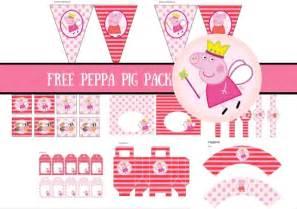 free princess peppa pig printable birthday party ideas