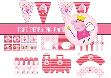 peppa pig printable birthday decorations free princess peppa pig printable birthday party ideas