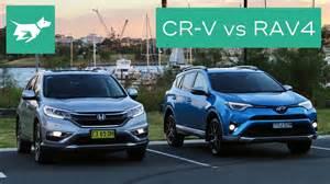 2017 honda cr v vs 2017 toyota rav4 comparison review   youtube