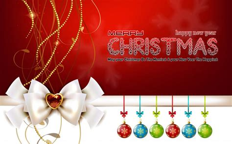 merry christmas  happy  year wishes   christmas wallpaper hd